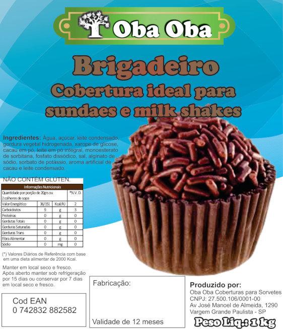 Rotulo Bag Brigadeiro
